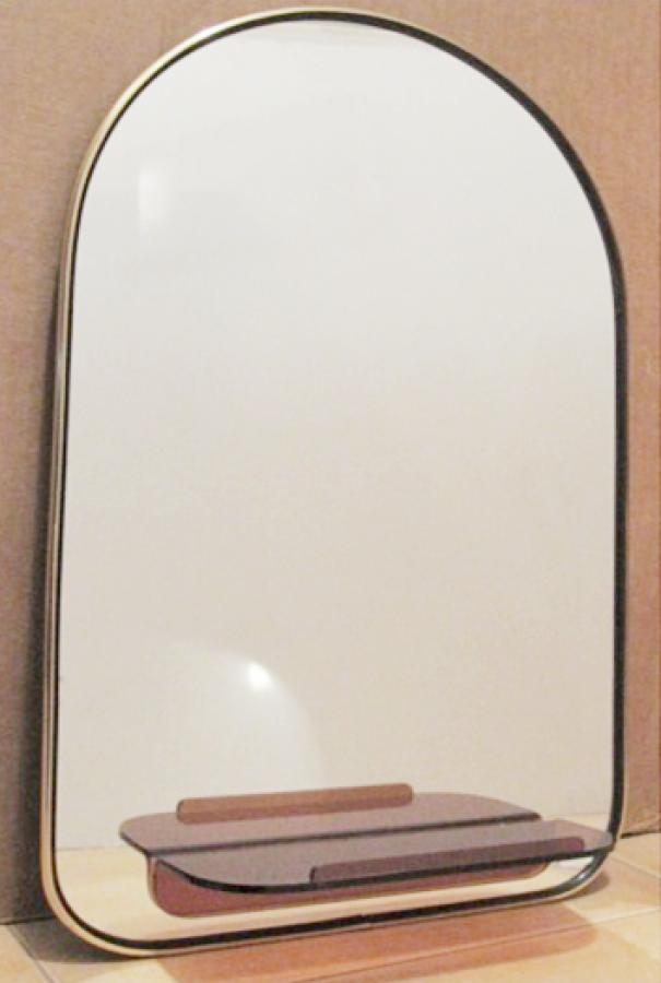 Espejo en cristal 40x60 for Espejo marco cristal
