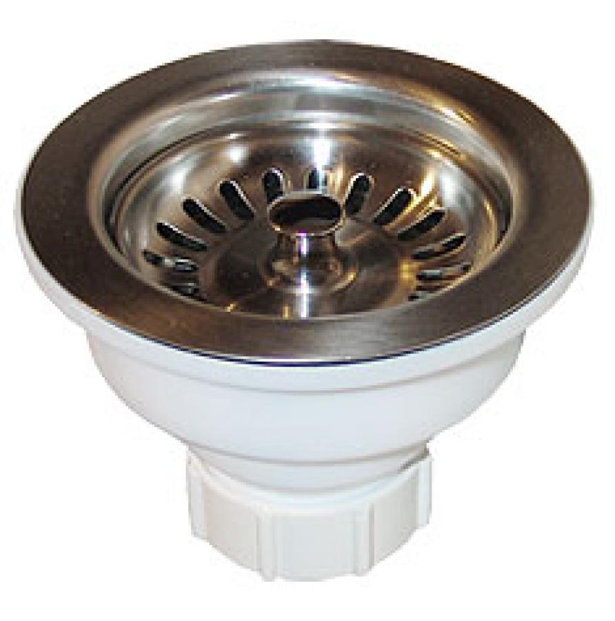 Griferia Para Baño Vindex: de acero inoxidable 430 y contra de polipropileno con tubo ceja de 10
